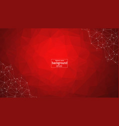 Abstract geometric background with connecting vector
