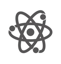 Atom science chemistry vector