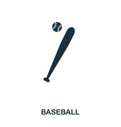 baseball icon premium style icon design ui vector image