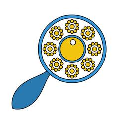 Beanbag icon vector