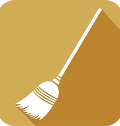 Broom Icon vector