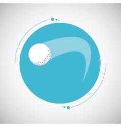Golf icon design vector image
