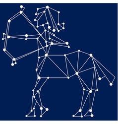 Sagittarius zodiac sign vector