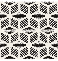 Seamless Hand Painted Line Geometric vector