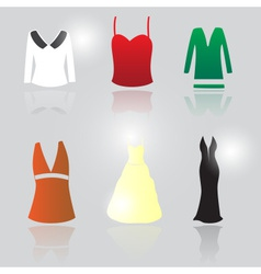 Womens clothing eps10 vector