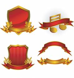 emblems vector image vector image