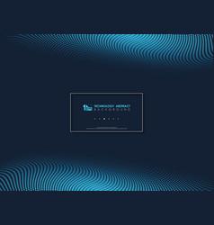 abstract blue modern minimal dots geometric vector image