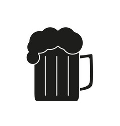 beer of icon black vector image