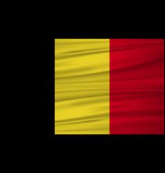 Belgium flag belgium flag blowig in the wind eps vector