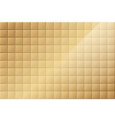 Bronze tiled background vector