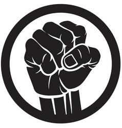 fist icon symbol design vector image