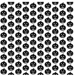 halloween design with pumpkins vector image