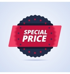 Special price badge stamp vector image vector image