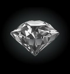 stylized shiny brilliant vector image