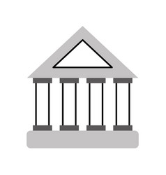 bank building investment financial concept vector image vector image