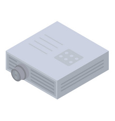 Device projector icon isometric style vector