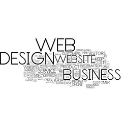 Know this before you start a business web design vector