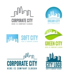 Logo badge label logotype elements with vector image
