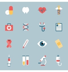 Medical Icons Flat vector image
