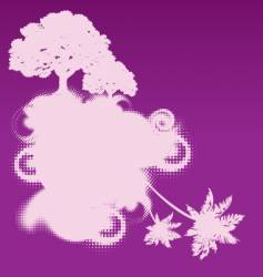 Mythical tree design vector