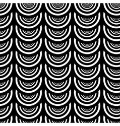 Pattern of black circles vector image