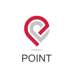 Point logo vector