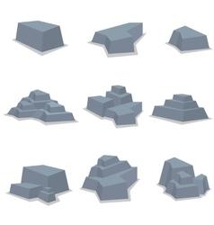 Stone set element vector