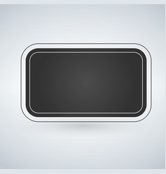 text box or button design isolated on modern vector image
