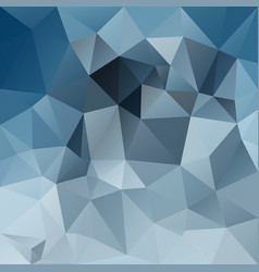 Abstract poly square background slate gray blue vector
