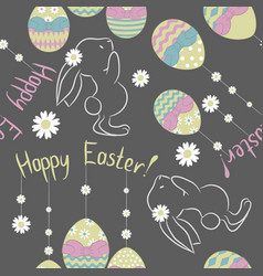 easter-pattern vector image