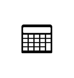 engineering calculator flat icon vector image