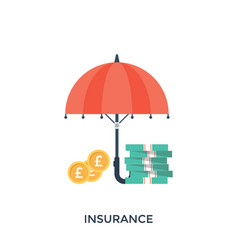 Financial insurance vector