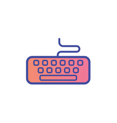 keyboard icon sign symbol vector image