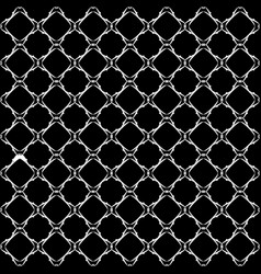 Lacy black and white pattern vector