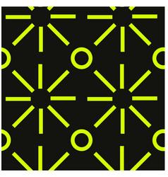 modern geometric lines seamless pattern vector image