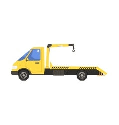 Small Evacuation Truck vector image