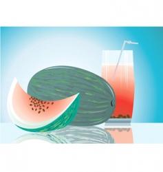 water melon vector image vector image