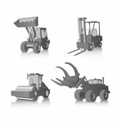 industrial machines vector image