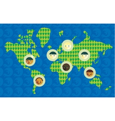 world culture vector image vector image