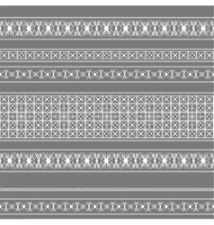 seamless pattern with white lace vector image vector image