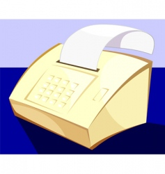 fax vector image vector image