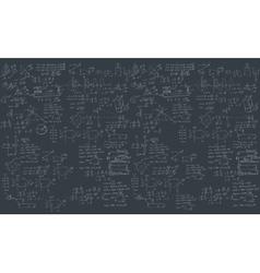 Formula in blackboard vector image