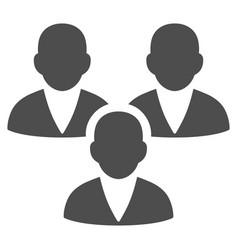 Customer group icon vector