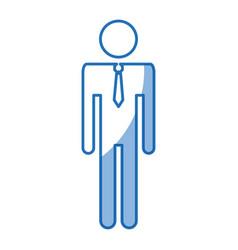 Man icon silhouette avatar male icon vector