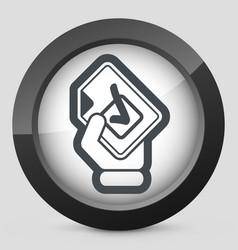 Mark choice icon vector