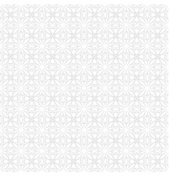 seamless abstract pattern in geometric ornamental vector image