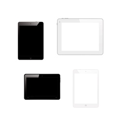 tablet pc computers vector image