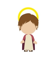 young jesus icon image vector image