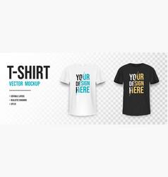 Black and white t-shirt mockup mockup vector