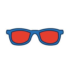 Eyeglasses accessory fashion object element vector
